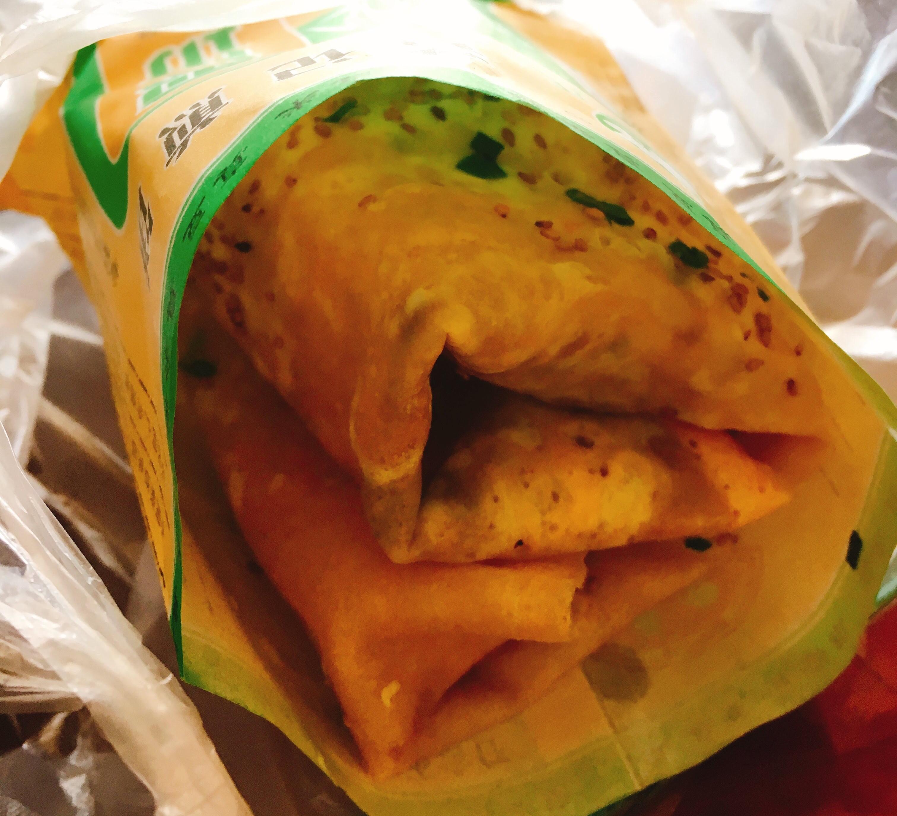 天津留学中に食べた煎餅菓子