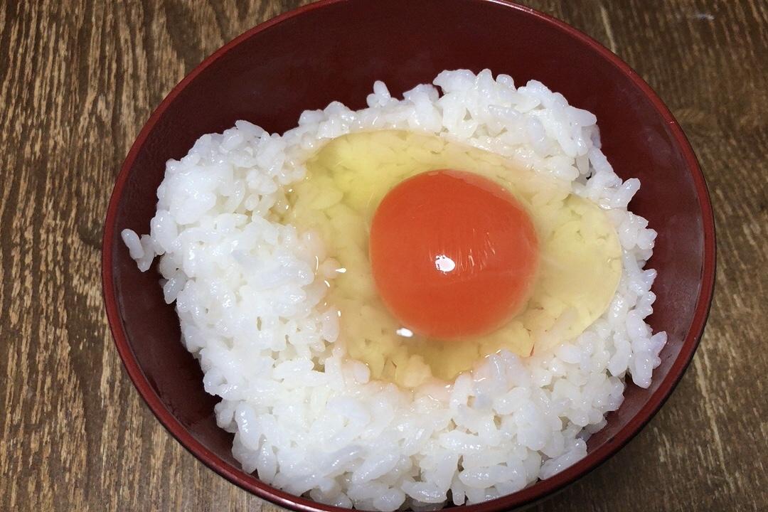 兵庫のブランド卵『夢王』を使った卵かけご飯
