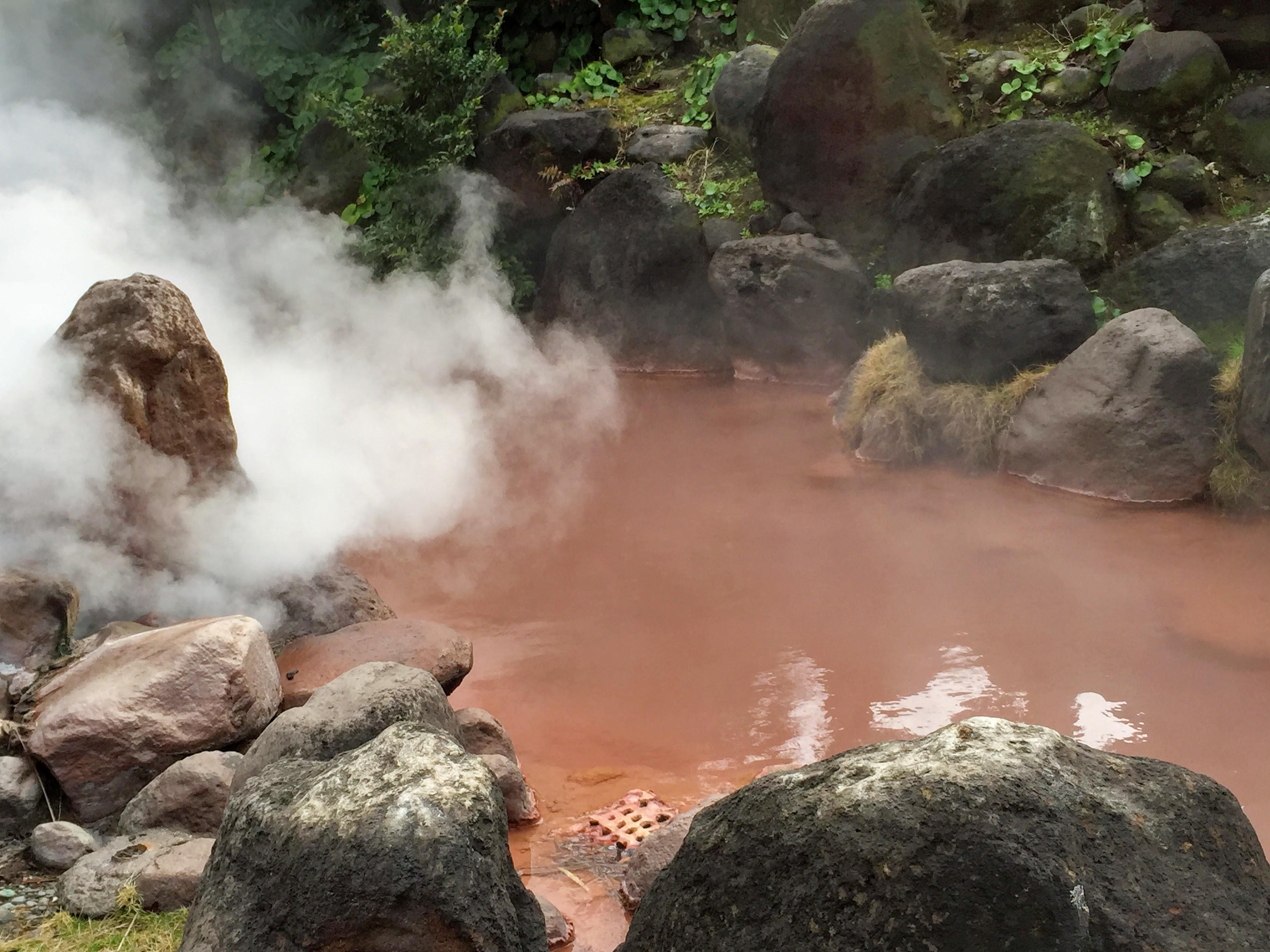 別府 血の池地獄